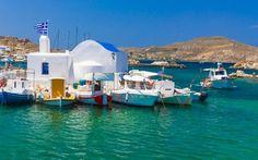 Naoussa town, Paros #greece