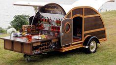 Custom Trailers, Vintage Trailers, Camper Trailers, Truck Camper, Little Trailer, E Motor, Tiny Camper, Food Trailer, Catering Trailer