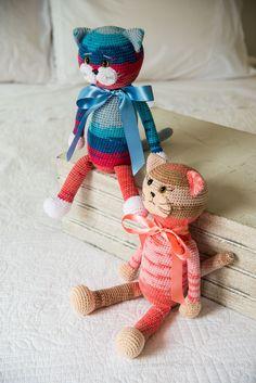 crochet, yarn, cats, kitties, patterns, free pattern, crafts, alize, cotton, alize cotton gold, amigurumi