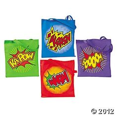 These Large Superhero Tote Bags are Great for boys' birthday party favors! Large tote bags can also be used for field trips, vacations and large events. 16 with 11 handles. Batman Party, Superhero Birthday Party, Birthday Party Favors, Boy Birthday, Birthday Ideas, Superman Birthday, Birthday Parties, Superhero Party Supplies, Superhero Classroom Theme