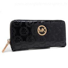 Michael Kors Jet Set monogramme Continental Portefeuille Noir GlasgowSac Petit Prix #fashionhandbags#jewellery|#jewellerydesign}
