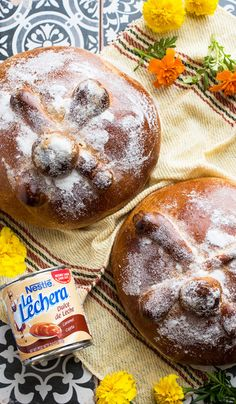 There's something about this Dulce de Leche Day of the Dead Bread recipe that will connect you to generations of Latino baking. From the tasty topping of sugar to the La Lechera Dulce de Leche kneaded inside, your Dia de los Muertos celebration wouldn't be complete without this classic treat.