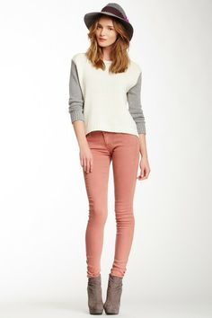 Rose Skinny Jean by MOTHER Denim on @HauteLook