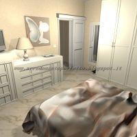 L'arredamento della camera da letto moderna