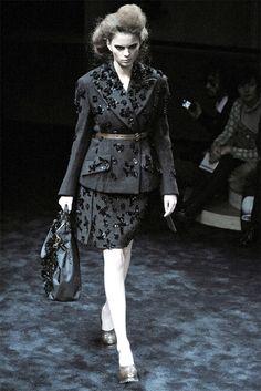 Sfilata Prada Milano - Collezioni Autunno Inverno 2009/2010 - Vogue