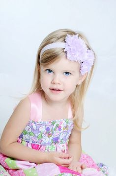 my life as a mom will be spent making headbands for my children :)