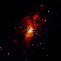 """On January 21, 2014 a supernova soon after it exploded in M82, galaxy this supernova, dubbed SN 2014J, belongs to a class of explosions called """"Type Ia"""" supernovas. These supernovas are used as cosmic distance-markers and played a key role in the discovery of the Universe's accelerated expansion, which has been attributed to the effects of dark energy.  Scientists think that all Type Ia supernovas involve the detonation of a white dwarf."""