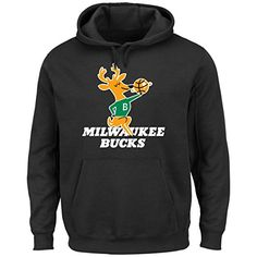 NBA Milwaukee Bucks 196893 Mens Twill Based Tek Patch Fleece Black XLarge * Learn more by visiting the image link.