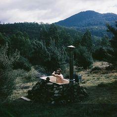 Outdoor Bathtub, Tasmania.