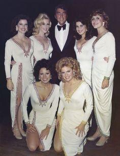 The Golddiggers with Dean Martin (circa 1975)