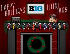 Happy Holidays from Fighting #Illini Athletics! http://youtu.be/bvN8qpUufck