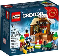 LEGO Creator Toy Workshop for sale online Lego Christmas Sets, Lego Christmas Village, Lego Winter Village, Christmas Elf, Lego Creator, Lego Sets, Legos, Modele Lego, Lego Advent Calendar