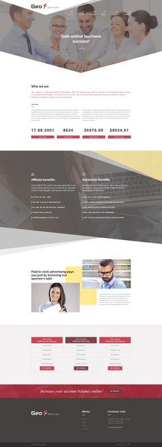 Business Responsive Joomla Template #64032