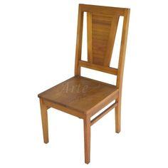 Cadeira Quadrada 0,44 x 1,03 Encosto Alto em Taeda - 4923