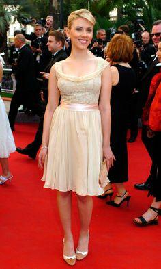 Scarlett Johansson At The Cannes Film Festival, 2005