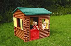 Little Tikes Log Cabin ~ The log cabin is of course an iconic piece of American housing, which makes its playtime miniature something of an institution itself. The Little Tikes Log Cabin playhouse has become a regular kiddie retreat over the past 20 years, a staple in backyards across the country with its plastic brown halls and signature green roof. Though it can easily fit two small children inside, adults beware: you may not even fit through the doorway.