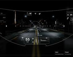 """Auf @Behance habe ich dieses Projekt gefunden: """"Helmet UI / Augmented Reality Interface"""" https://www.behance.net/gallery/19483573/Helmet-UI-Augmented-Reality-Interface"""