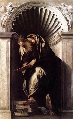 Aristotele. Veronese. 1560. Oil on canvas. Biblioteca Nazionale Marciana. Venice.