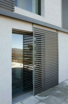Sliding timber batten screen