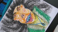 Ilustración infantil, busqueda de personaje - Pastel al óleo, tinta china, esgrafiado -  Naymé García on Behance - Oil pastel, ink, children´s book, character