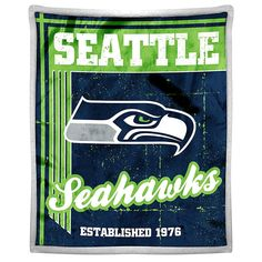 Officially Licensed NFL Seahawks Sherpa Throw
