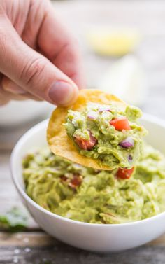 Quick and easy Guacamole, SO much tastier than a store bought variety! Gluten Free, dairy free, vegan, vegetarian, paleo, primal, and Whole 30 compliant.