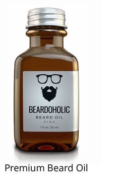 Beardoholic Premium Quality Beard Oil and Leave-in Conditioner, Softener - Pure Organic Natural, Pine Scented - Beard Growth and Stops Itchiness - Jojoba and Argan Oil * You can find more details at Grow A Thicker Beard, Thick Beard, Diy Beard Oil, Best Beard Oil, Bald Spot In Beard, Beard Hair Growth, Growing Facial Hair, Patchy Beard, Natural Beard Oil