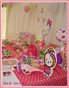 Photo 14 of 24: Hello Kitty / Birthday Hello Kitty in the garden | Catch My Party