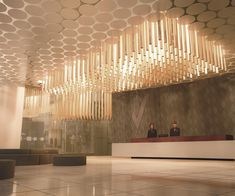 Jeddah Hotel. Mixed use design in Saudi Arabia, in collaboration with Euroestudios Engineers #lobby Daniel Valle Architects