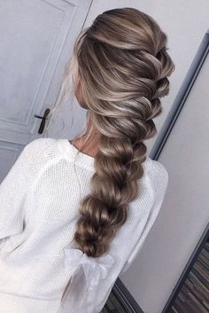 Cute Hairstyles Long, Simple Wedding Hairstyles, Everyday Hairstyles, Bridesmaid Hairstyles, Braided Hairstyles, Brunette Hairstyles, Easy Hairstyle, Bridesmaid Hair Down, Medium Hair Styles