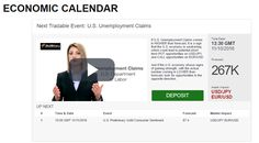 Economic Calendar, November 10 2016  Watch our line-up of major economic events for Thursday November 10, 2016: http://www.bullbinary.com/economic-calendar/  Next Tradeable Event:  13:30 GMT U.S. Unemployment Claims  ====> Fund your BullBinary Account Through Any of These Methods: https://www.bullbinary.com/deposit-methods/  Risk Warning: Trading Binary Options is Risky