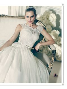 "I saw this in ""Truly Zac Posen"" in Martha Stewart Weddings Summer 2014 Summer 2014."