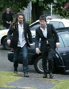 Jason Momoa and Joe Flanigan gotta love Stargate Atlantis :o)