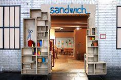 Bread & Butter Berlin 2012 – SANDWICH  showroom by Matte & Ijm Studio store design