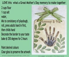 Mommy and Baby handprint