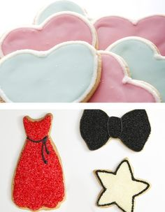 Frosted Sugar Cookies Sugar Cookie Frosting, Sugar Cookies, Oscar Party, Cookie Bars, Desserts, Tailgate Desserts, Deserts, Postres, Dessert