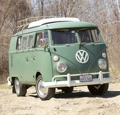 One day I want to buy an old VW van and road trip along the east coast