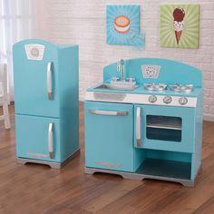 KidKraft 2 Piece Retro Kitchen and Refrigerator Set & Reviews | Wayfair