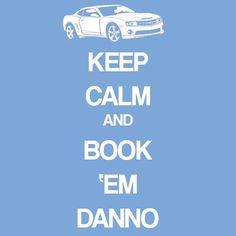 Book 'em Danno. Hawaii Five-0