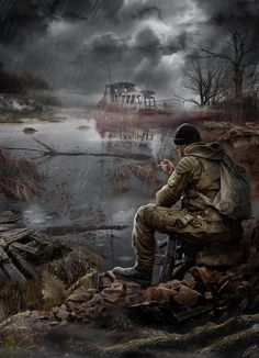Apocalypse World, Apocalypse Art, Apocalypse Survival, Cthulhu, Apocalypse Landscape, Apocalypse Aesthetic, Post Apocalyptic Art, Chandler Riggs, Futuristic Art