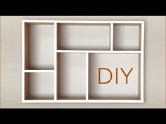 DIY Makeup Drawer Organizers - YouTube