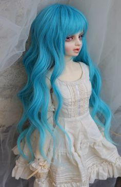 〓 〓 BJD DOLL M.ART wig: 1/3 multicolor into forbearance] [flower scroll found out that jellyfish hair - Taobao