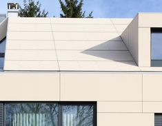 Monolothic effect: roof and facade executed with EQUITONE facade panels. equitone.com
