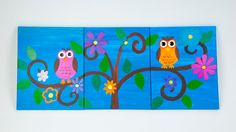 Owl Painting. - made by a friend- SO CUTE!!