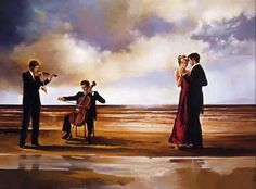 """""""Dance Me to the End of Love"""" Jack Vettriano"""