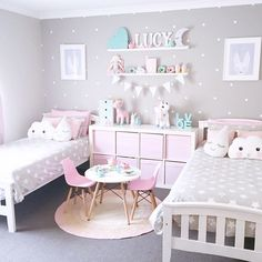 Have to share this gorgeous room again @my_home_14 - what's better then 1 Little Rabbit print - 2 looking gorgeous above the beds by toucan_