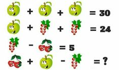 2+10-6=6  Eine Traube Fehlt an Ende Math Puzzles Brain Teasers, Math Quizzes, Maths Puzzles, Math Games For Kids, Fun Math, Activities For Kids, Math Talk, Math Challenge, Interactive Posts