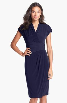 Maggy+London+Jersey+Faux+Wrap+Dress+available+at+#Nordstrom