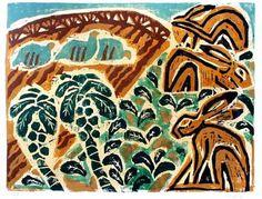 Relief prints – Mammals | Greg Poole – Artist / Illustrator based in Bristol, UK