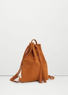 Ryggsekk i skinn - Damer Backpack Purse, Leather Backpack, Couture Cuir, Sac Michael Kors, Mango Bags, Boho Bags, Linen Bag, Leather Bags Handmade, Tote Handbags